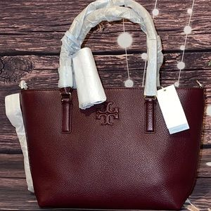 ❤️TORY BURCH ❤️THEA SMALL CONVERTIBLE LEATHER TOTE